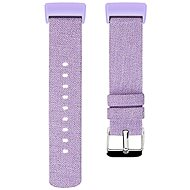 Eternico Fitbit Charge 3 Canvas Violet (Small) - Uhrband