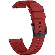 Eternico Garmin Quick Release 20 Silikonarmband rot - Armband