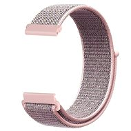 Eternico Garmin Quick Release 20 Nylon Band rosa - Armband