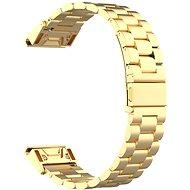 Eternico Garmin Quick Release 20 Edelstahlarmband Gold - Armband
