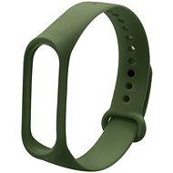 Eternico Mi Band 3 Basic Olive Green - Armband