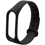 Eternico Basic Black für Mi Band 3 / 4 - Armband