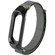 Eternico Mi Band 2 Nylon Dark Olive - Armband