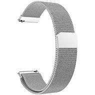 Eternico Elegance Milanese universal Quick Release 20mm Silber - Armband