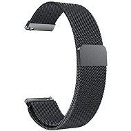 Eternico Quick Release 22 Milanese Band schwarz für Samsung Galaxy Watch - Armband