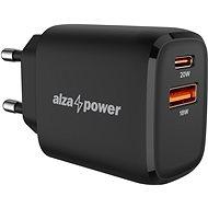 AlzaPower A100 Fast Charge 20 Watt - schwarz - Netzladegerät