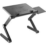 AlzaErgo Stand LD110, schwarz - Kühlende Laptop-Unterlage