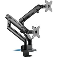 AlzaErgo Arm D80B Essential USB - Monitorhalter