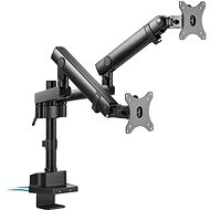 AlzaErgo Arm D85B Essential USB - Monitorhalter