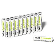 AlzaPower Super Alkaline LR03 (AAA) 20 Stück in Öko-Box - Einwegbatterie