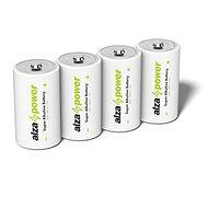Einwegbatterie AlzaPower Super Alkaline LR20 (D) 2Stück in Öko-Box