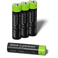 AlzaPower Rechargeable HR03 (AAA) 1000 mAh - 4 Stück in Öko-Box - Akku