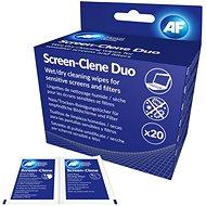 Reinigungstücher AF Screen-Clene Duo - Packung mit 20 + 20 Stück