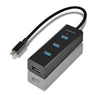 AXAGON HUE-S2C USB-C 4-Port-USB-3.0 CHARGING hub - USB Hub