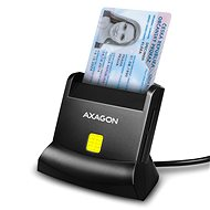 AXAGON CRE-SM2 Smart card & SD / microSD / SIM card - Kartenleser