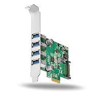 AXAGON PCEU-43V PCI-Express-Karte - Steckkarte
