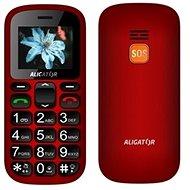 Aligator A321 Senior rot-schwarz + Tisch-Ladegerät - Handy