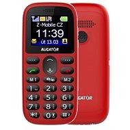 Aligator A510 Senior Rot + Desktop-Ladegerät - Handy