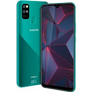 Mobiltelefon Aligator S6500 Duo Crystal 32 GB - grün - Handy