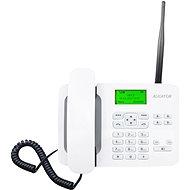 Aligator T100 Weiß - Telefon für Festnetz