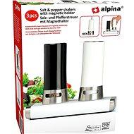 Alpina Salz + Pfeffer - Magnetöffnung 15x9x13cm - Gewürzbüchse