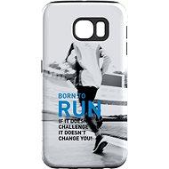 """MojePouzdro """"Born to run"""" + Schutzbrille für Samsung Galaxy S7 - Schutzhülle von Alza"""