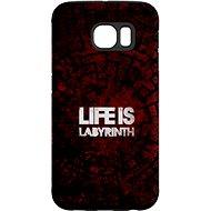 """MojePouzdro """"Das Leben ist ein Labyrinth"""" + Schutzbrille für Samsung Galaxy S7 - Schutzhülle von Alza"""