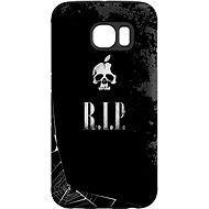 """MyCase """"R.I.P."""" + Schutzglas für Samsung Galaxy S7 - Schutzhülle von Alza"""