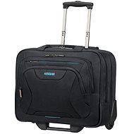 "American Tourister AT WORK ROLLING TOTE 15.6"" Black - Laptop-Tasche"
