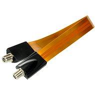 Fensterdurchführung 30cm, F-Stecker - Kabel