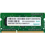 Apacer SO-DIMM 4 GB DDR3 1600 MHz CL11 - Arbeitsspeicher