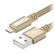 AlzaPower AluCore Lightning MFi 1m Gold - Datenkabel