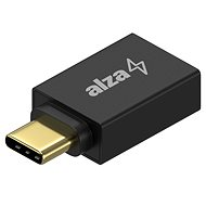 AlzaPower OTG USB-C (M) na USB-A 3.0 (F) schwarz - Adapter