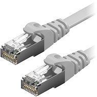 AlzaPower Patch CAT6 FTP Flat 1m grau - Netzkabel
