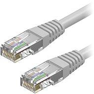 AlzaPower Patch CAT6 UTP 15m grau - Netzkabel