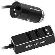 AlzaPower Car Charger X540 Multi Charge schwarz - Autoladegerät