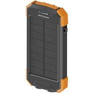 AlzaPower SolarScout 10000 mAh - orange - Powerbank