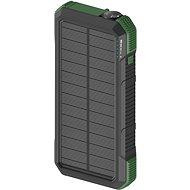 Powerbank AlzaPower SolarScout 20000 mAh - grün - Powerbanka