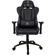 AROZZI INIZIO Schwarz PU schwarz mit grauem Logo - Gaming-Stuhl