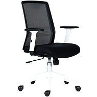ANTARES Novello weiß / schwarz - Bürostuhl