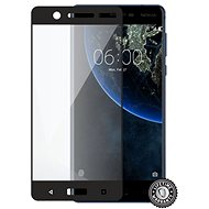 Screenshield NOKIA 5 (2017) Tempered Glass protection (full COVER black) na displej - Schutzglas