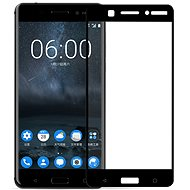 Screenshield NOKIA 6 (2017)  Tempered Glass protection (full COVER black) für das Display - Schutzglas
