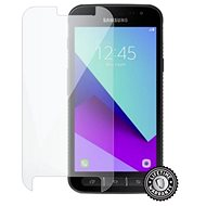 Screenshield SAMSUNG G390 Galaxy Xcover 4 Tempered Glass protection (full COVER black) für das Display