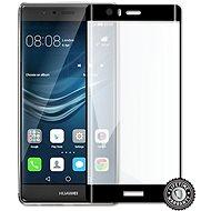 Screenshield Huawei P9 Plus VIE-L09 Tempered Glass protection (full COVER BLACK metalic frame) - Schutzglas