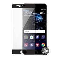 Screenshield HUAWEI P10 Tempered Glass protection (full COVER black) auf das Display - Schutzglas