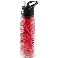 ASOBU Trinkflasche Deep Freeze 600 ml Rot - Flasche