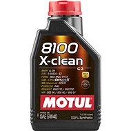 MOTUL 8100 X-CLEAN 5W40 1L - Öl