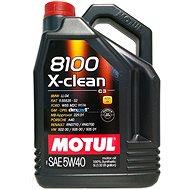 MOTUL 8100 X-CLEAN 5W40 5L - Öl