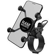 RAM Mounts Komplettsatz X-Grip universelle Halterung für Lenker mit einem Durchmesser von 60 mm - Handyhalter