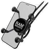 RAM Mounts EZ-ON/OFF Komplettsatz X-Grip Lenkerbefestigung für kleinere Mobiltelefone - Handyhalter